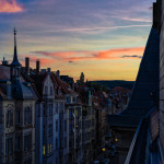 Sunset in Stuttgart