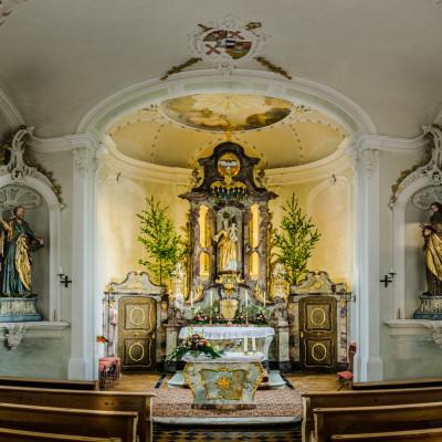 Mariaberg Chapel, Allgäu