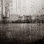 Rainy Hamburg harbour BG
