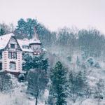 Snowy morning in Stuttgart